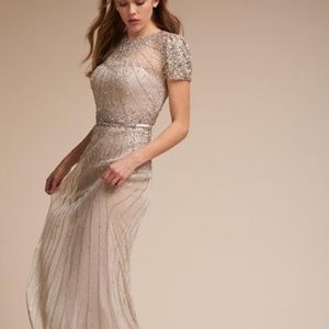 BHLDN Terani Couture Barton Wedding Dress 6 NWT